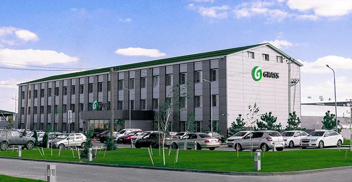 Производственные здания на заводе «Grass» г. Волжский, Волгоградская область