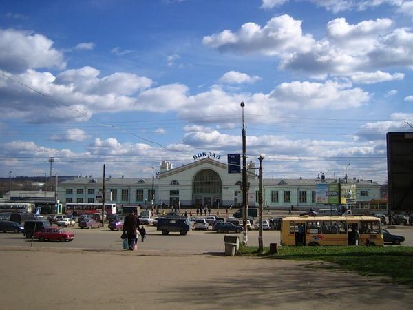 Железнодорожный вокзал, г. Киров