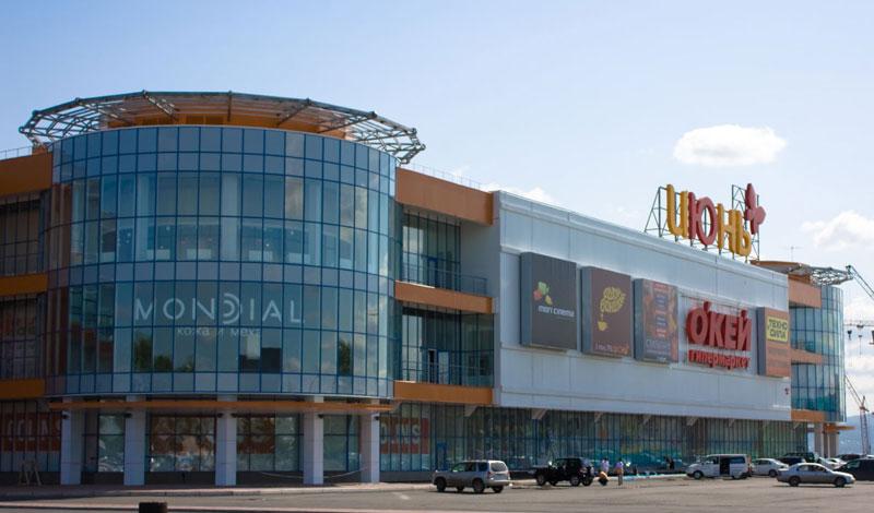 Торговый центр «Июнь», г. Сыктывкар